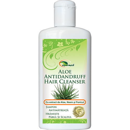 Aloe Antidandruff Hair Cleanser